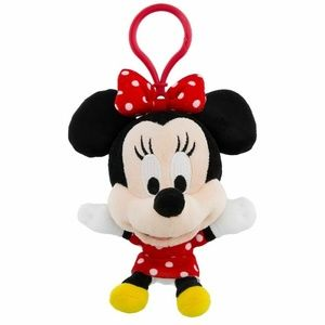 Disney Parks Minnie Mouse Plush Keychain